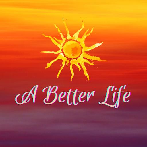 A Better Life Sunset Logo
